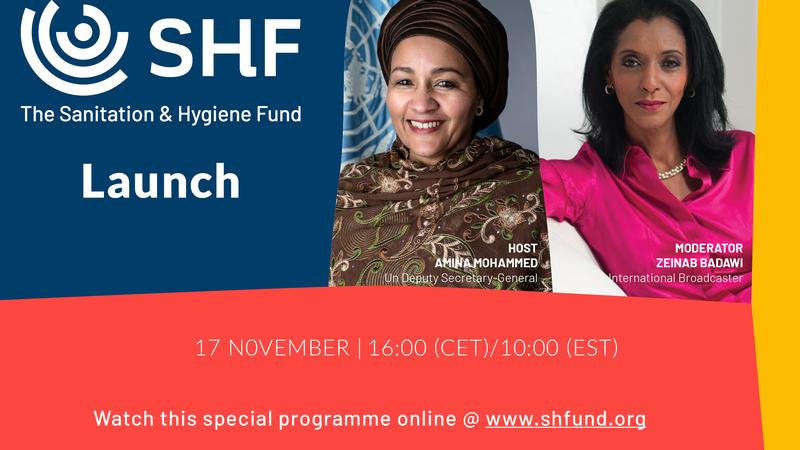 Sanitation & Hygiene Fund Launch